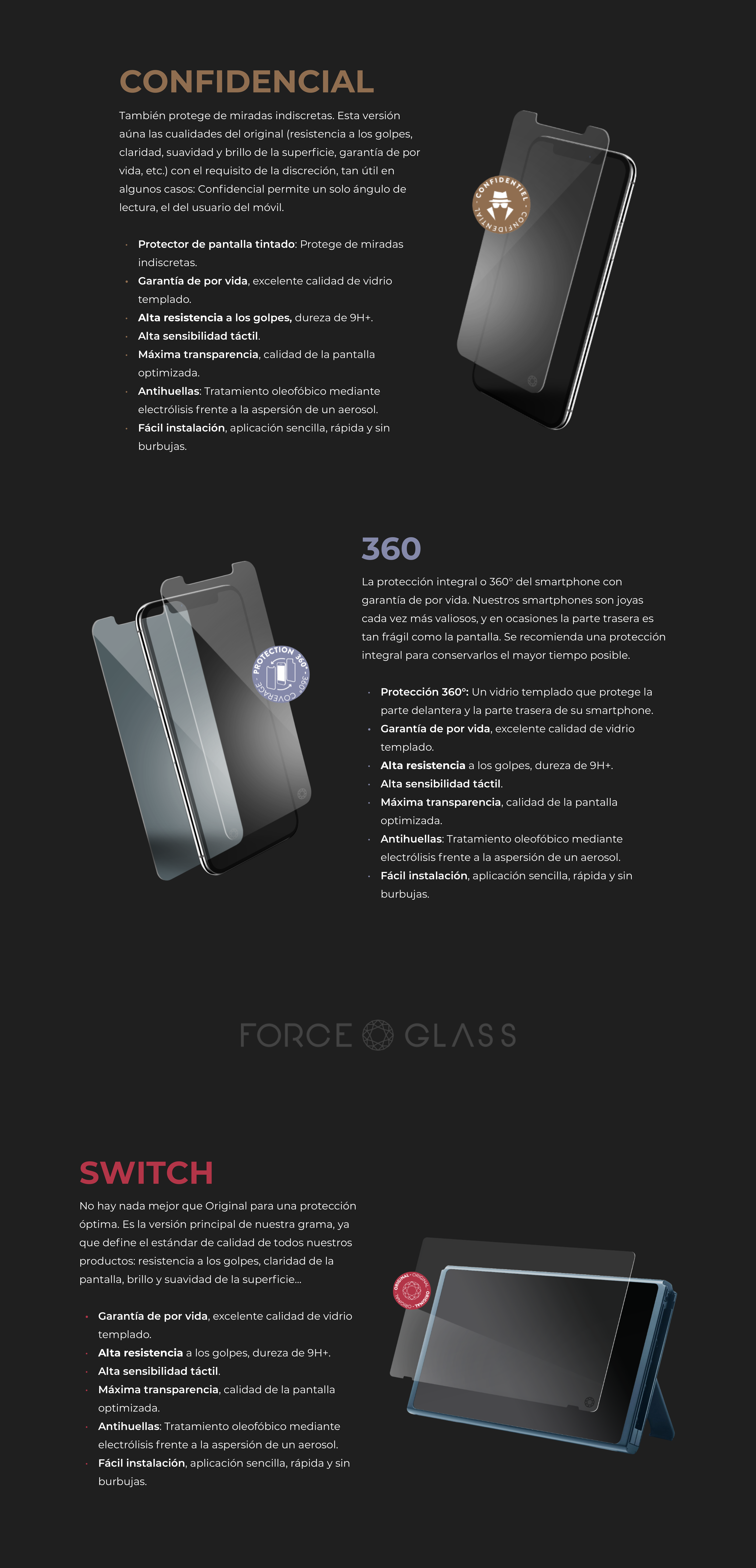 Microsite Force Power